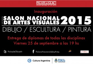 Entrega de Diplomas – 104ª edición del Salón Nacional de Artes Visuales
