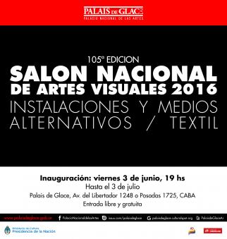 105° Salón Nacional de Artes Visuales 2016