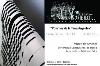 VIII Bienal Internacional de Arte Textil WTA 2019 Madrid
