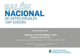 108° Edición del Salón Nacional de Artes Visuales